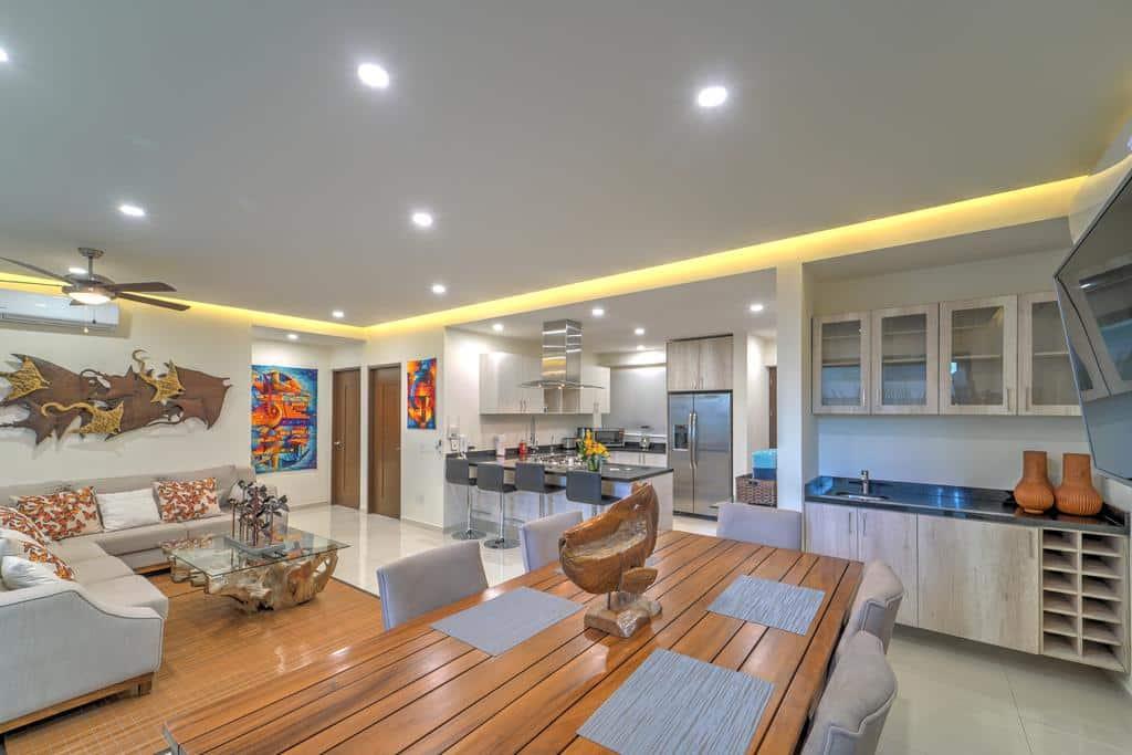 Com uma linda decoração o apartamento Nayri Life & Spa 2034