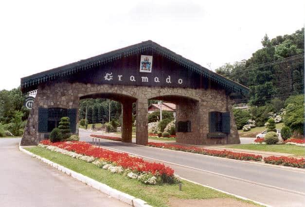 O Pórtico da cidade de Gramado- Pontos turisticos Gramado