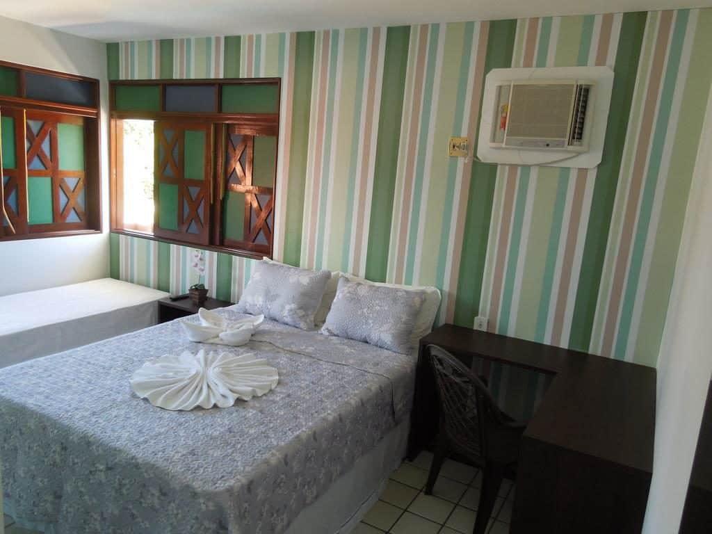 quarto do Hotel Rio Mar