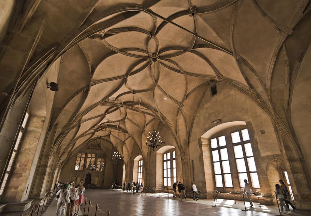 Sala de Vladislav no Palácio Real em Praga