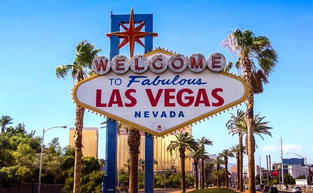 Letreiro Welcome To Fabulous Las Vegas