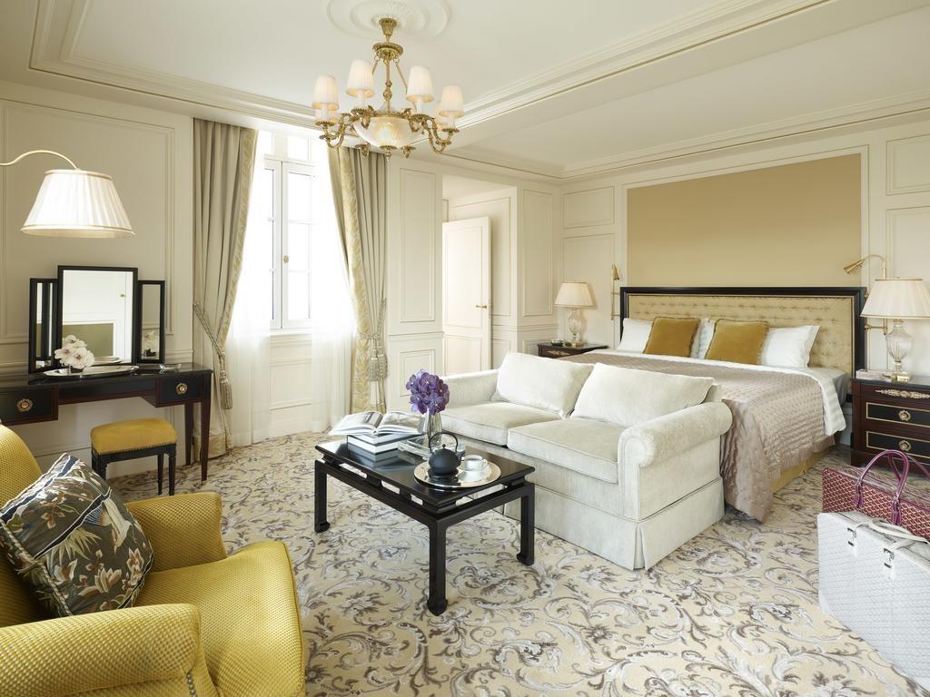 Shangri-la Hotel Paris quarto para lua de mel