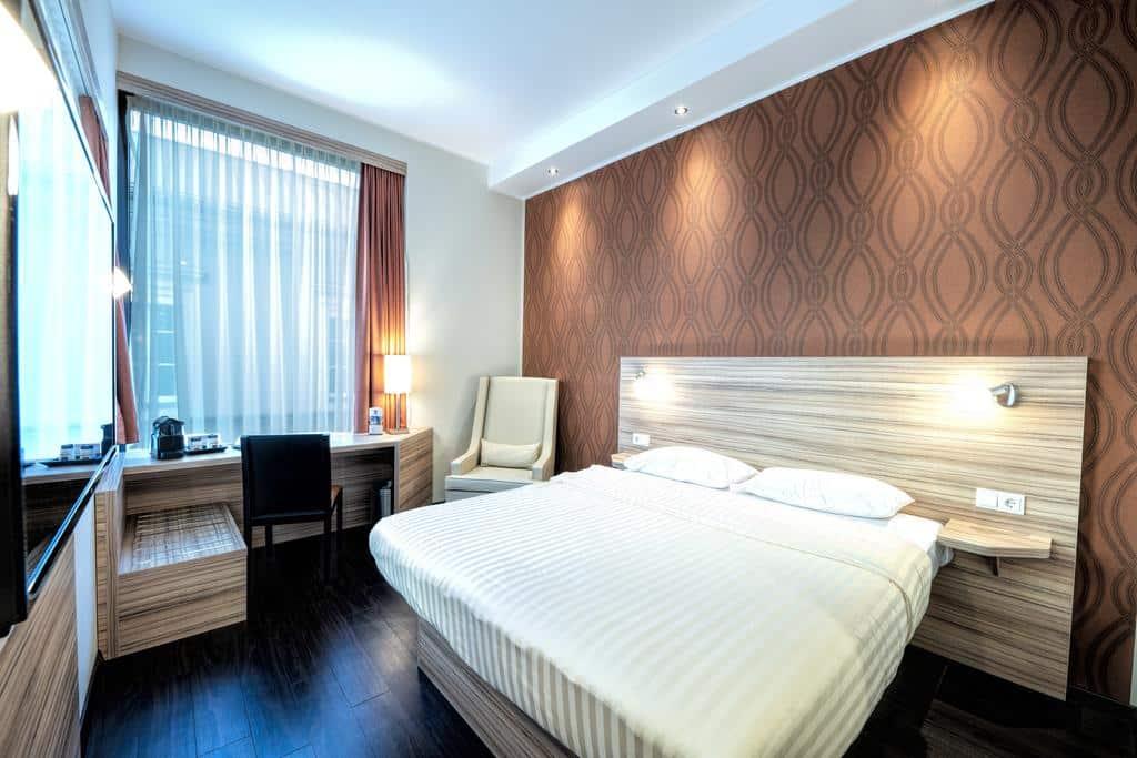Quarto de casal no Star Inn Hotel Linz