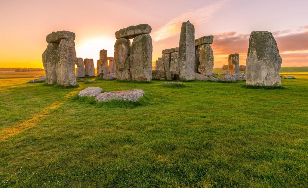 As pedra de Stonehenge em Salisburg, Inglaterra - Pontos turísticos inglaterra