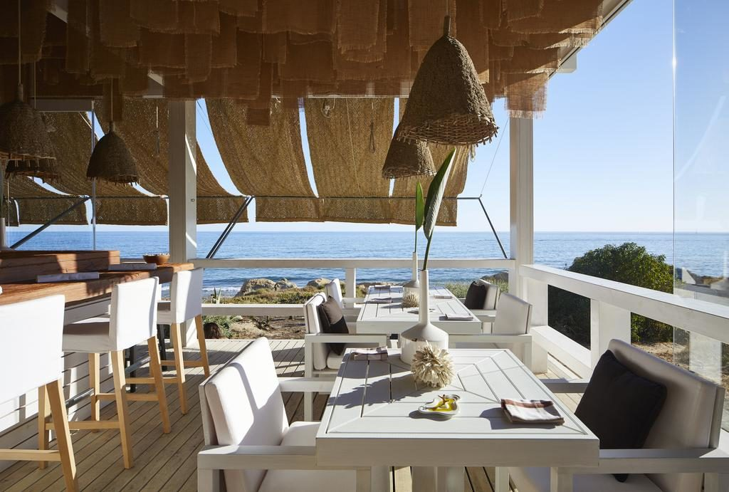 Vista do restaurante no Vila Joya