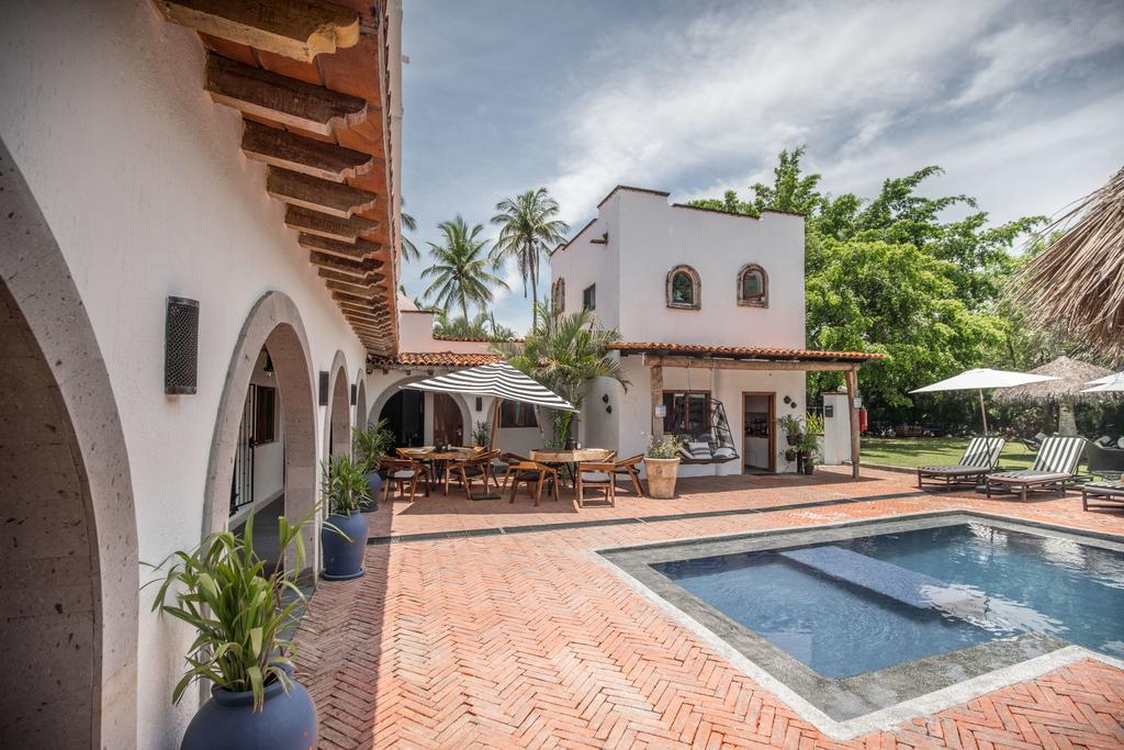 Área da piscina do Villa San Juan Bed&Breakfast - onde ficar em Puerto Vallarta