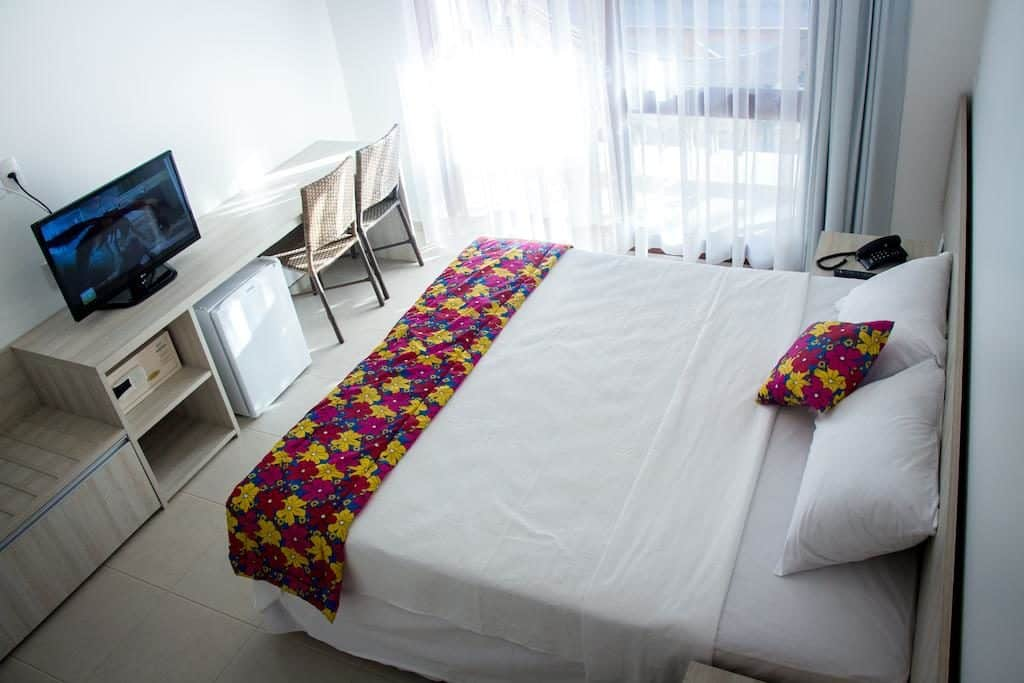 Quarto do Vivá Barra Hotel Pousada em Barra de São Miguel
