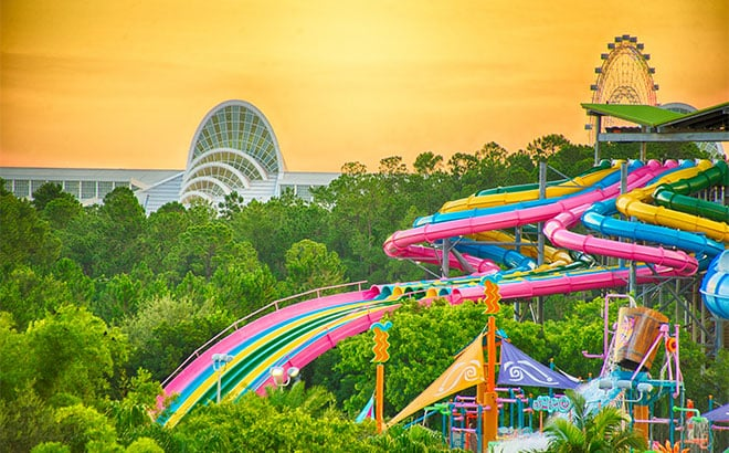 O Parque Aquatica em Orlando