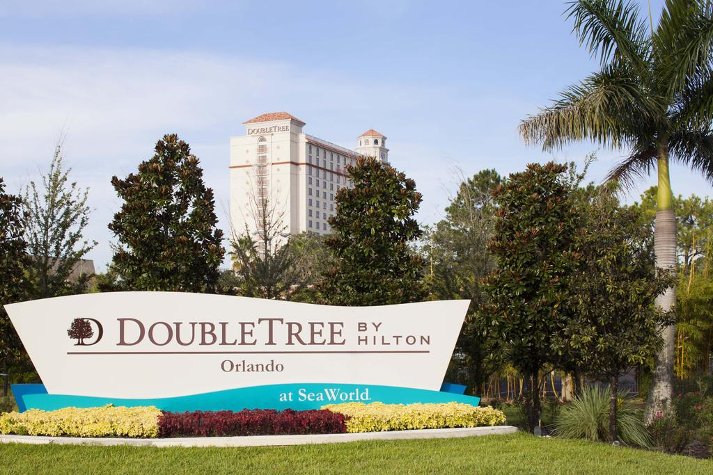Foto de área externa do DoubleTree by Hilton Orlando at SeaWorld