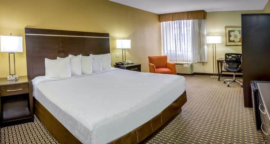 Foto de quarto espaçoso no Midpointe Hotel by Rosen Hotels & Resorts
