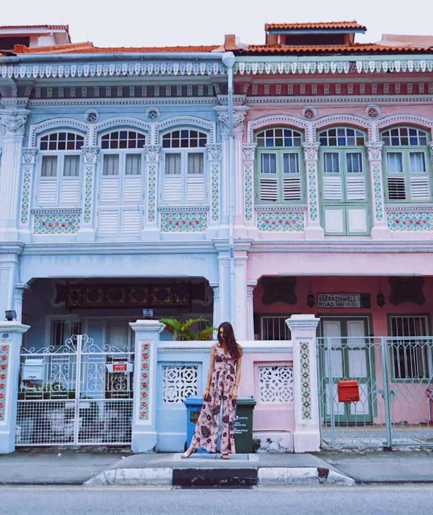 A Peranakan Houses em Singapura