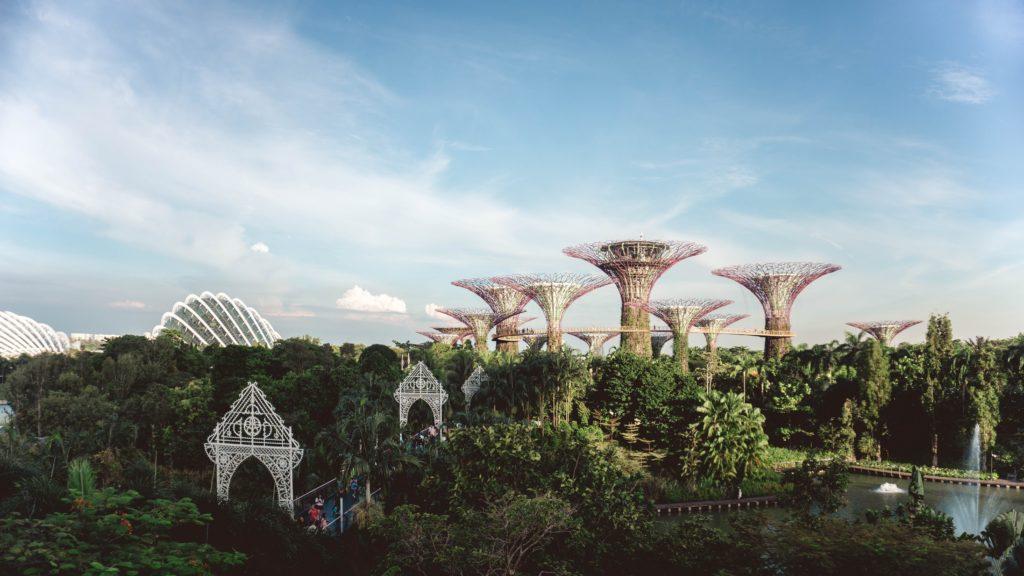 O Gardens by the Bay em Singapura