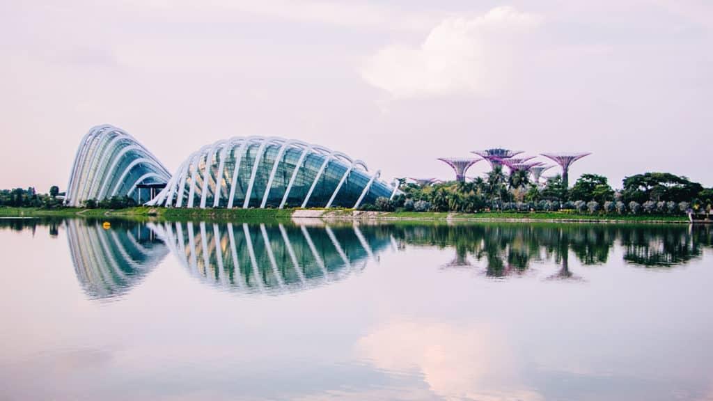 O Garden by the Bay em Singapura - Foto: Site Oficial