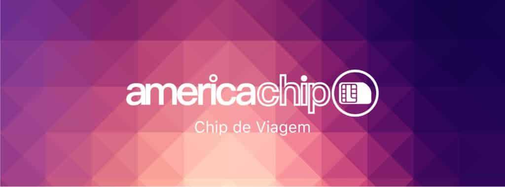 logo da empresa telefonica America Chip