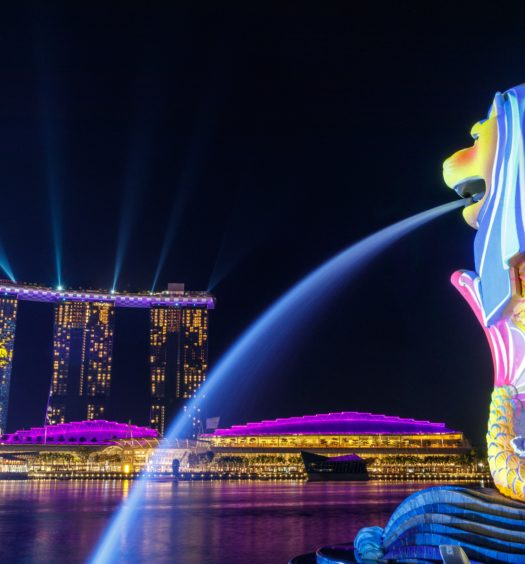Pontos turísticos em Singapura