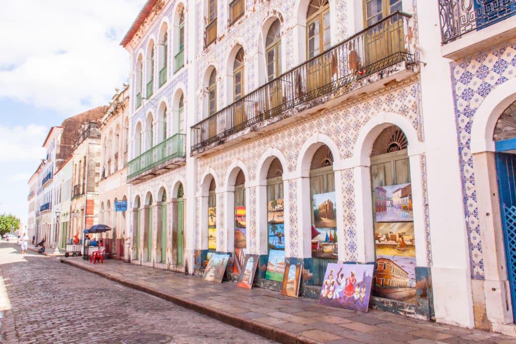 Centrinho histórico de São Luís no Maranhão