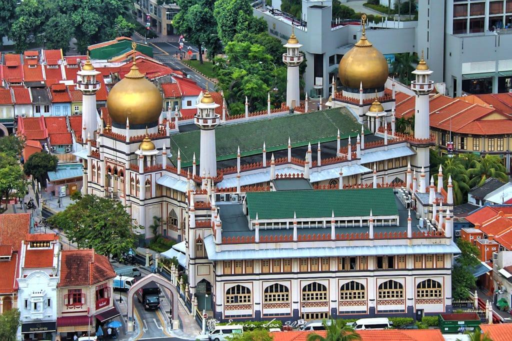 A Sultan Mosque na Arab Quarter - Foto: Erwin Soo via Flickr