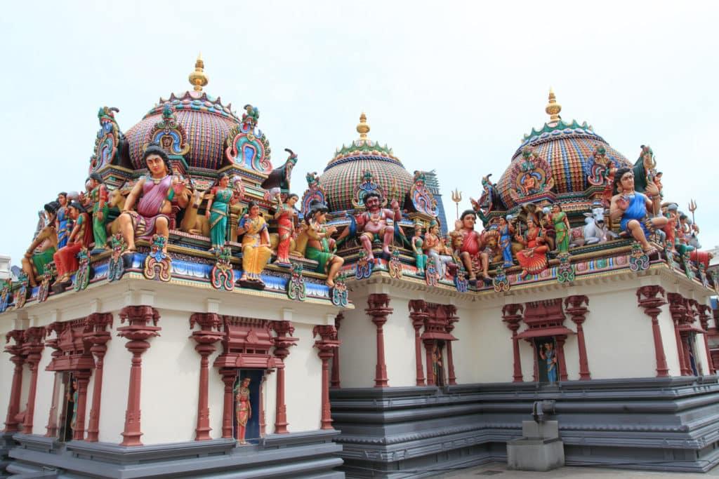 O Templo Sri Mariamman em ChinaTown - Foto: Jeffery Wong via Flickr