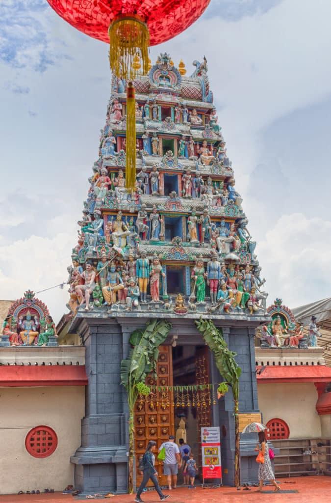 Templo Sri Mariamman em Singapura