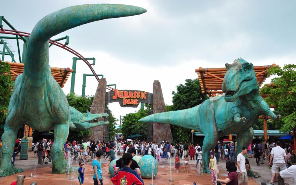 A Universal Studios em Singapura