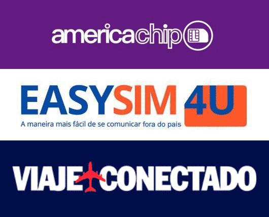 chip celular em portugal da america chip, da easysim4u e da viaje conectado