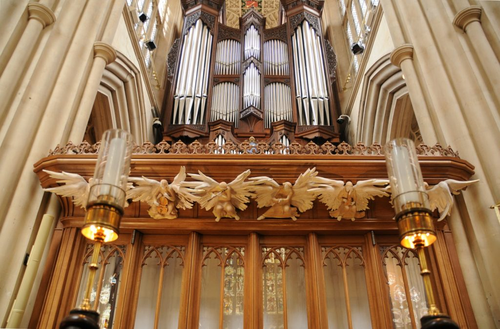 Órgão da Abadia de Bath