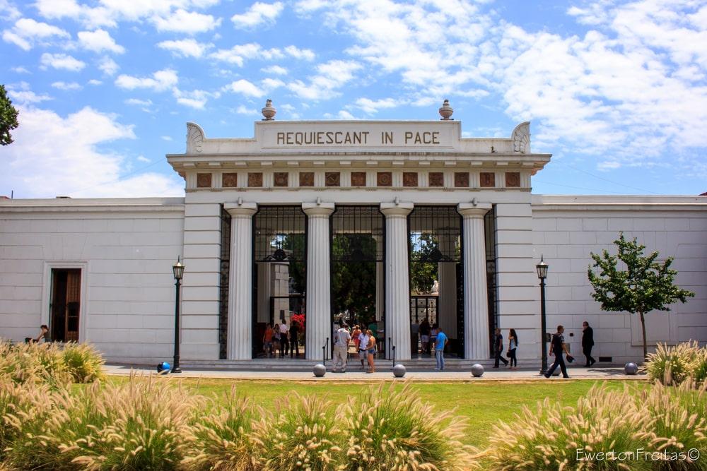cemiterio recoleta em buenos aires na argentina