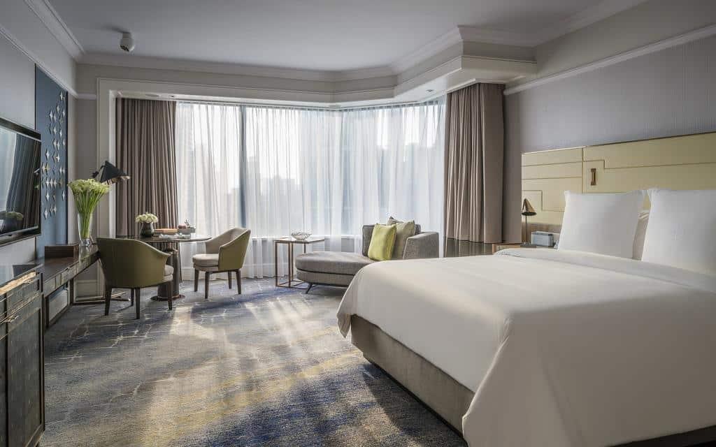 Four Seasons Hotel Singapore - hotéis 5 estrelas singapura