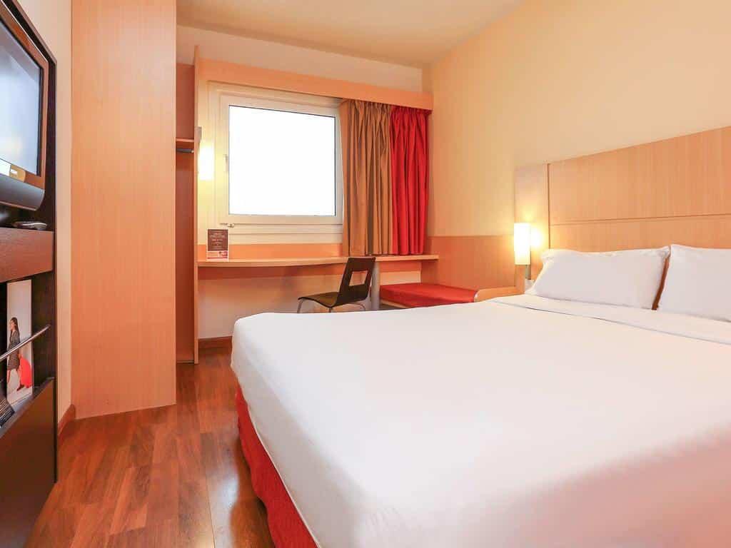 quarto do hotel Ibis Buenos Aires