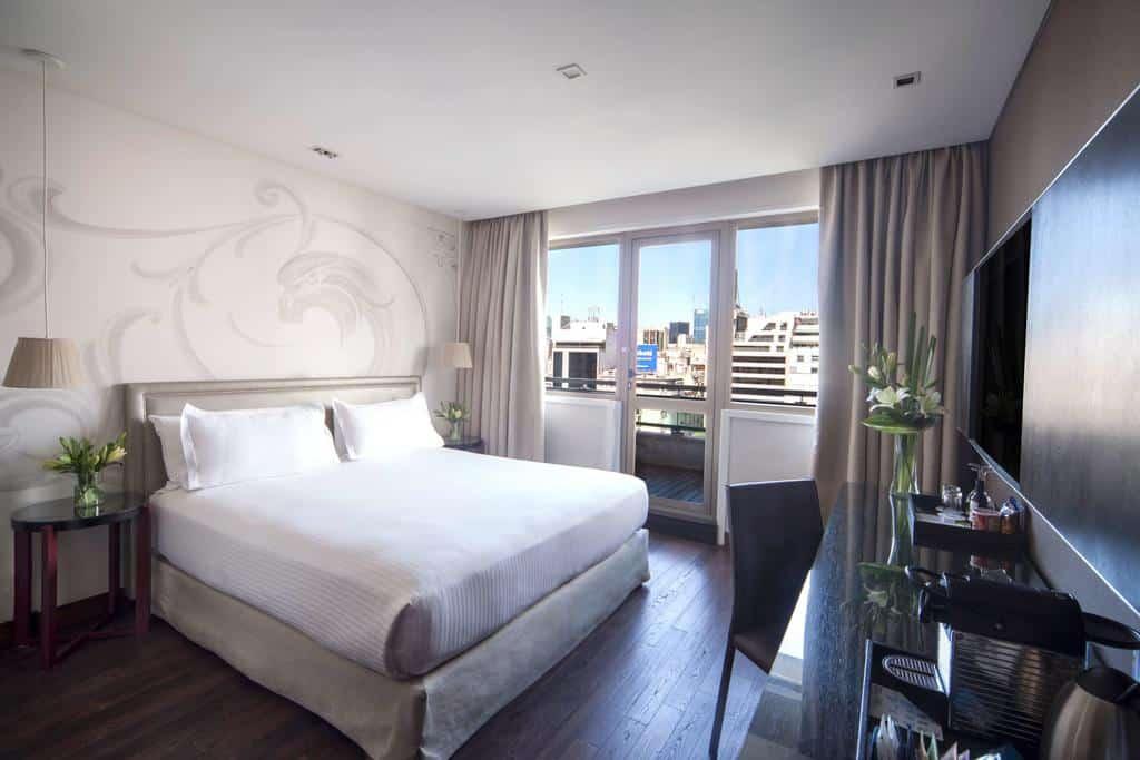 vista do quarto do hotel NH Buenos Aires Tango