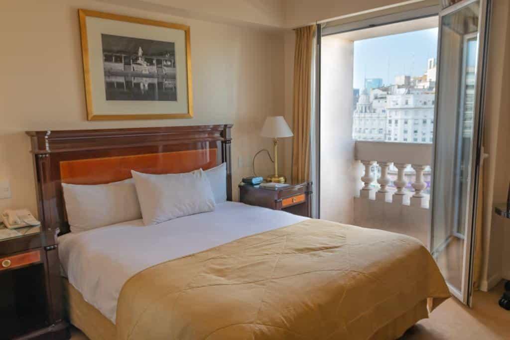 vista do quarto de hotel Park Silver