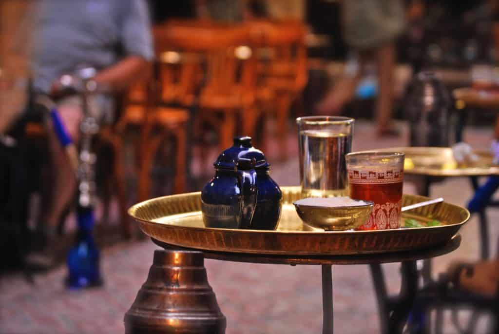 chá egípcio
