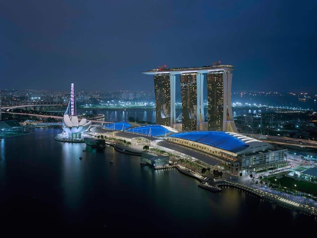 Marina Bay Sands - onde ficar em singapura