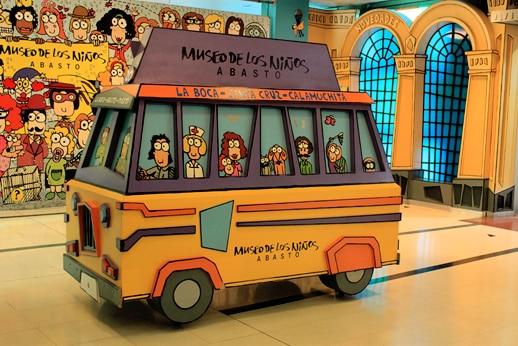 Museo de Los Niños Abasto em Buenos Aires com crianças
