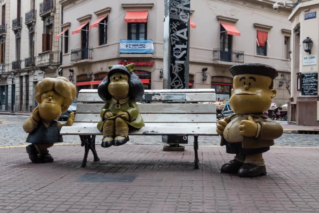 mafalda e o museu do humor na argentina