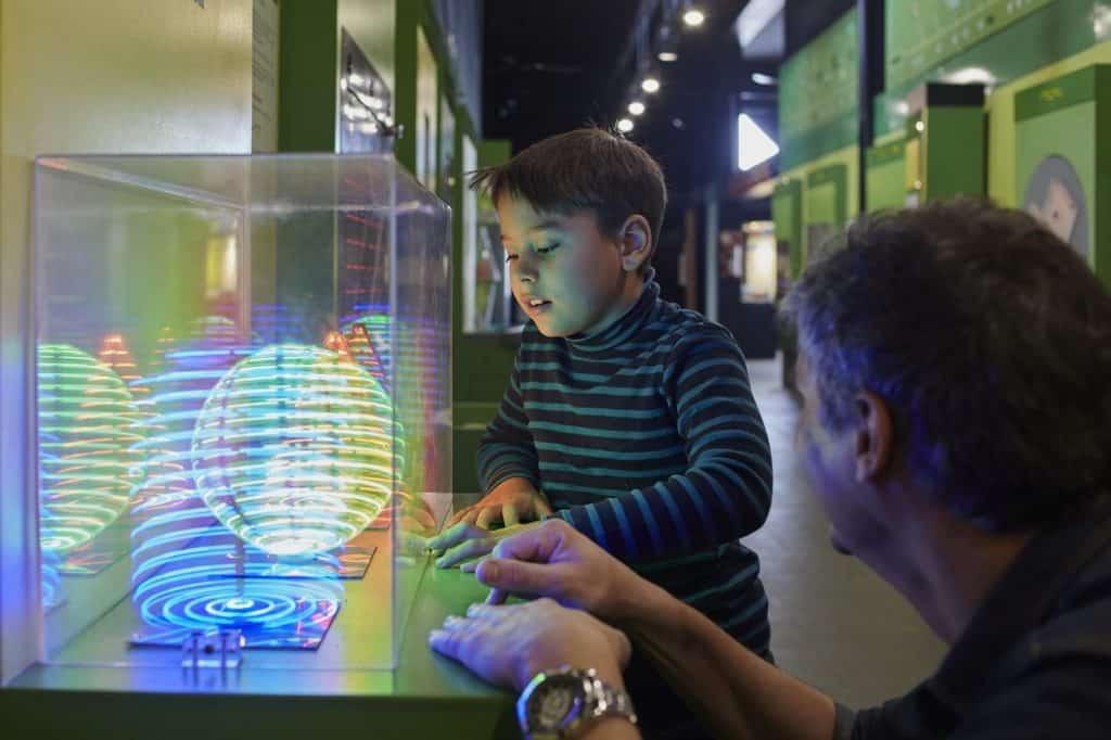 Museo prohibido no tocar em buenos aires com crianças
