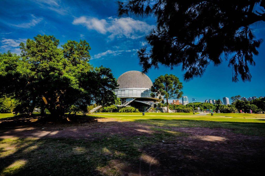 Planetario de Buenos Aires com Crianças visitando