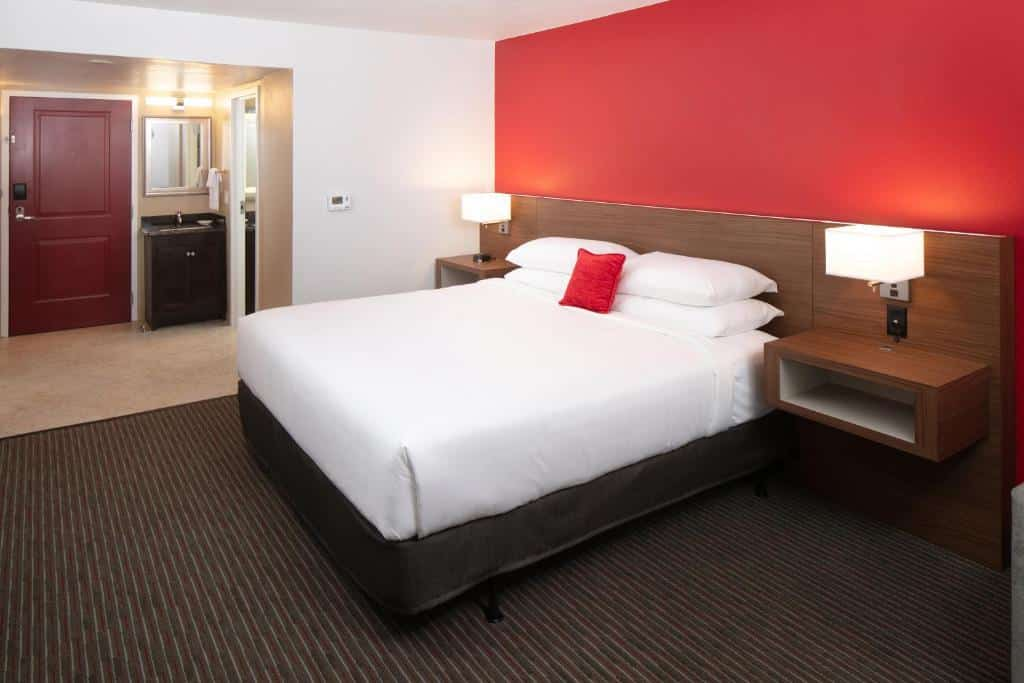 Quarto do Red Lion Hotel Orlando Lake Buena Vista South