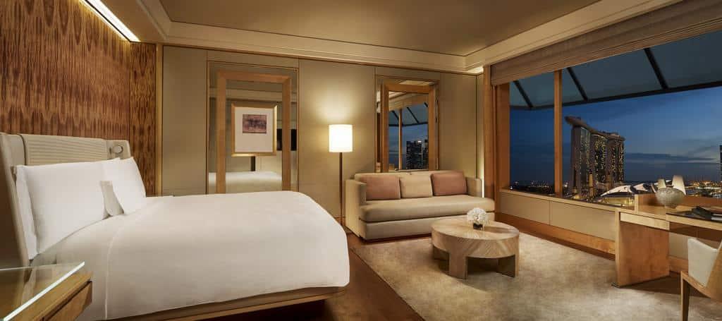 The Ritz-Carlton, Millenia Singapore - hotéis 5 estrelas singapura