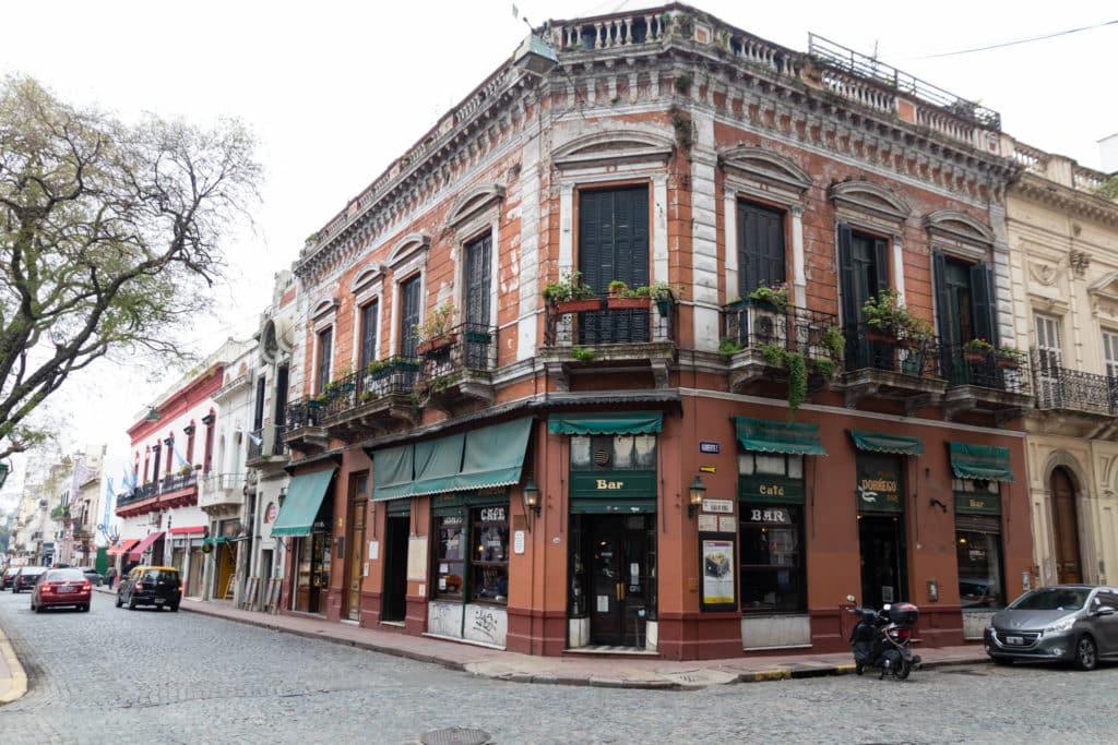 prédio histórico de san telmo, buenos aires