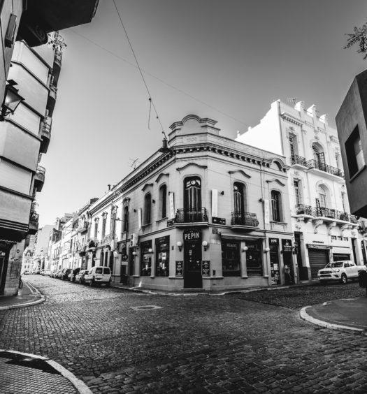cidade de san telmo em buenos aires, argentina