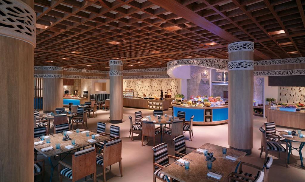 REstaurante do Shangri-La's Rasa Sentosa Resort & Spa - hotéis 5 estrelas singapura