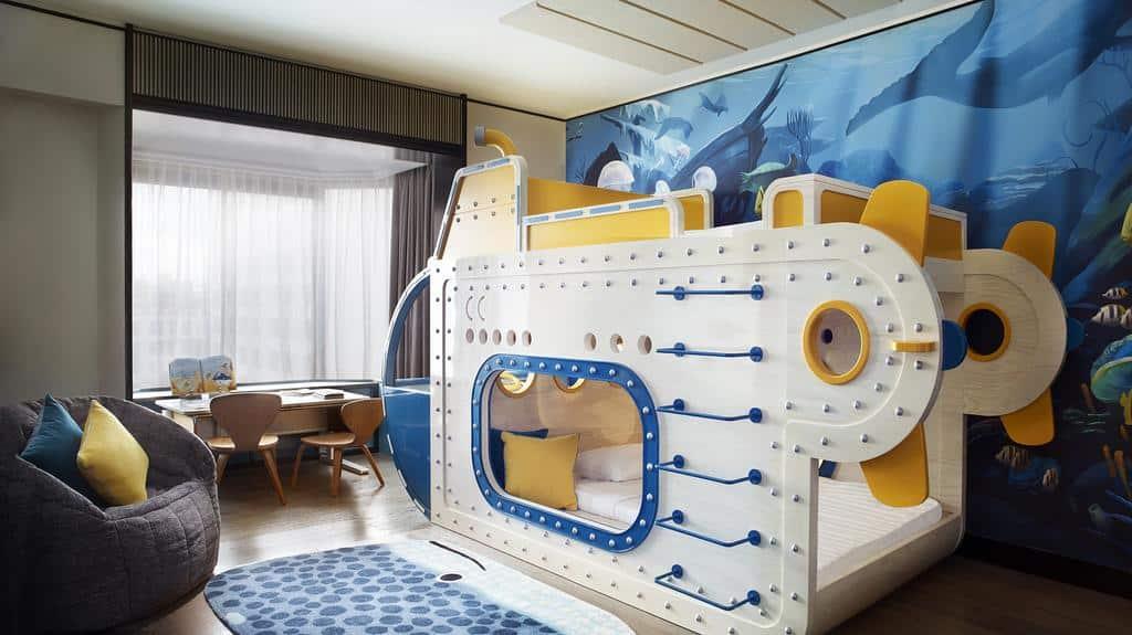 Quarto infantil Shangri-La Hotel Singapore