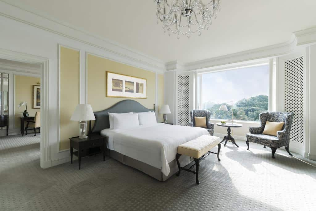 Quarto do Shangri-La Hotel Singapore