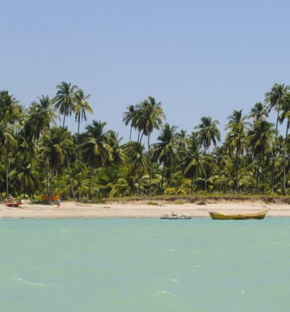 Praia de Ipioca em Maceió, no Alagoas