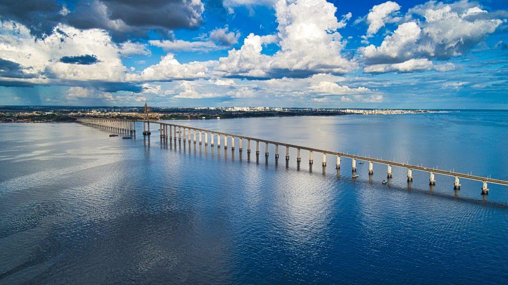 Ponte Rio Negro em Manaus, no Amazonas