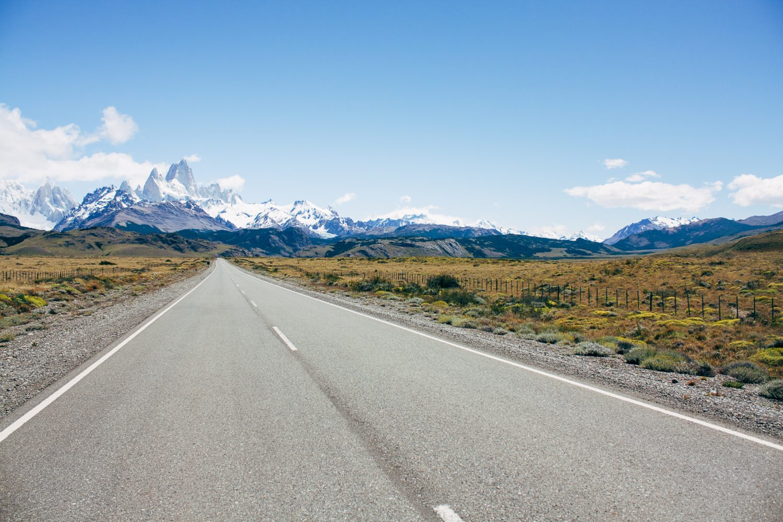 estrada para ushuaia na argentina