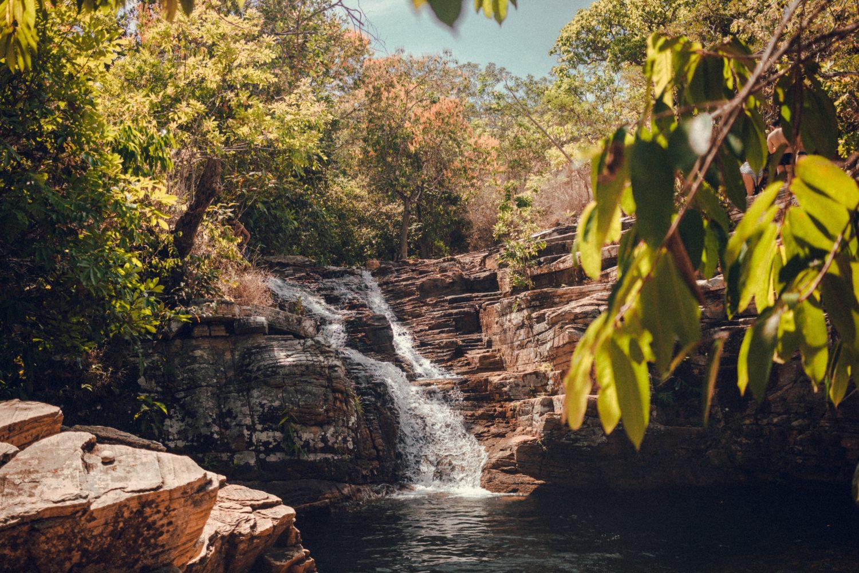 cachoeira do paraíso em pirenópolis, goiás