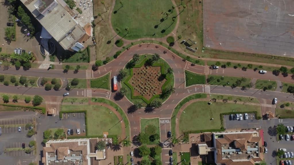 Vista aérea de bairro de Belo Horizonte