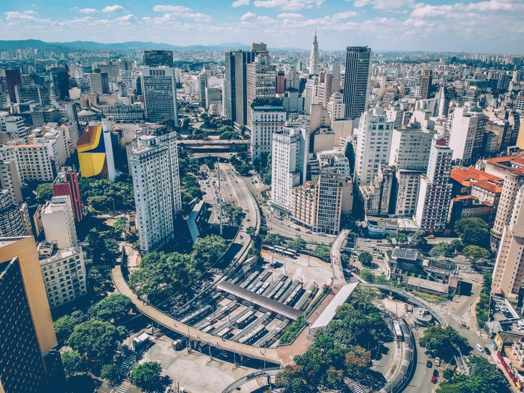 Terminal Bandeira em São Paulo